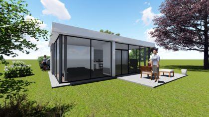 architekt dům pro děti nebo babičku