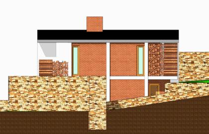 architekt architektonická studie návrh interiér stavba dům projekt