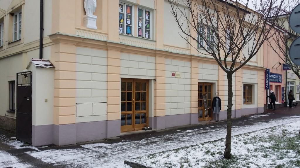 dobříš pražská architekt