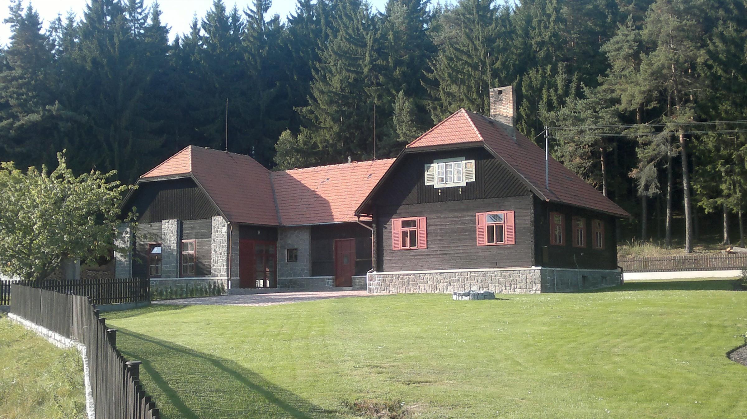 Rekonstrukce hájovny Helefenburk