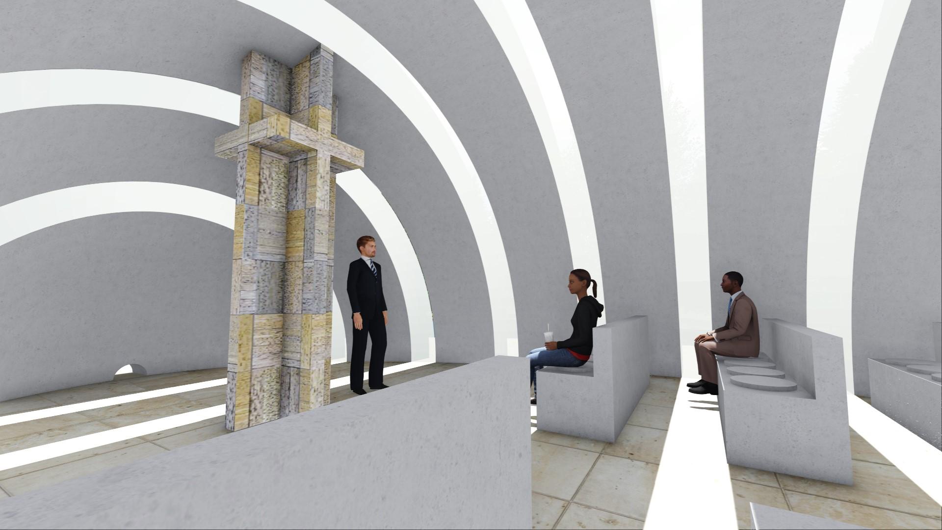 kaple, architektonický návrh