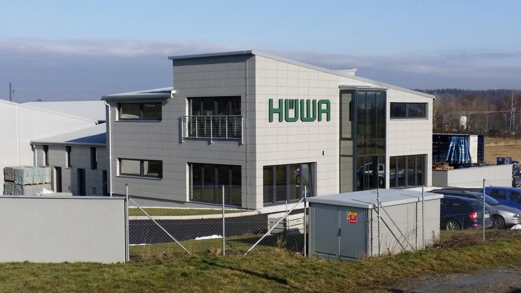 Výrobní podnik HÜWA průmyslová zóna Písek