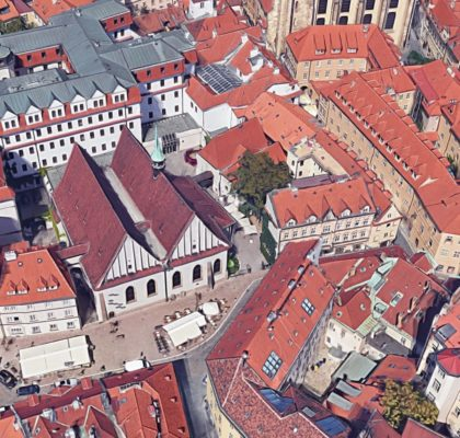 """Rekonstrukce domu """"U Zeleného stromu"""" Praha 1"""