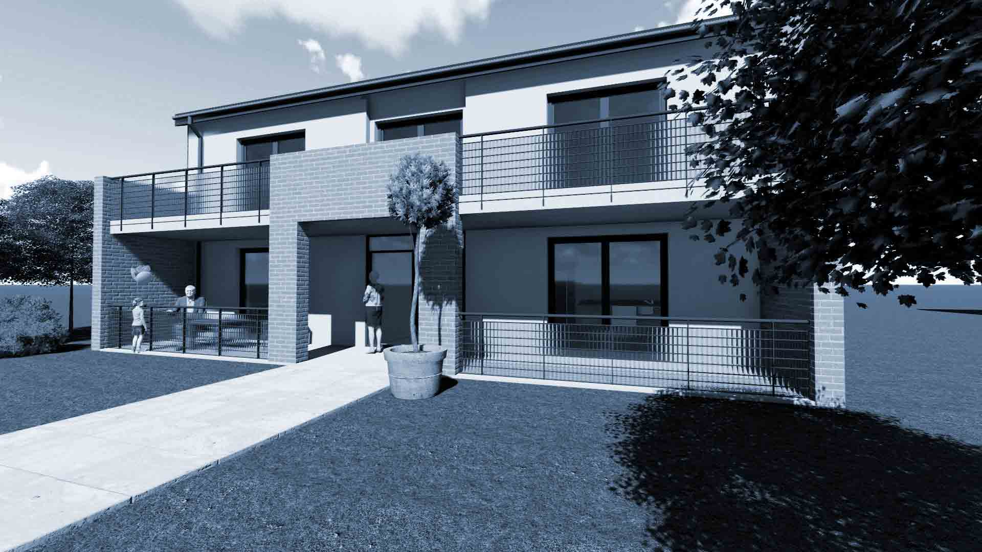 Bezbariérový komunitní dům pro seniory - projekt a dodávka stavby