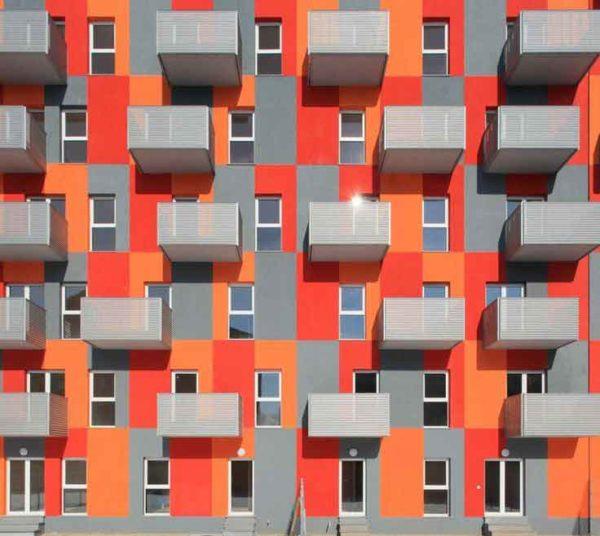 jak nabarvit dům, barevné řešení, barva fasády