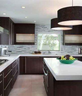 návrh kuchyně, kuchyňské linky, rozmístění spotřebičů, jak navrhnout kuchyň