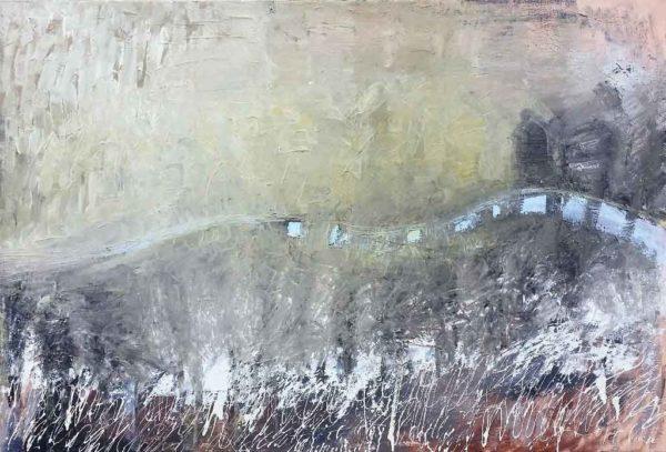 olejomalba obraz řeka Hermoch