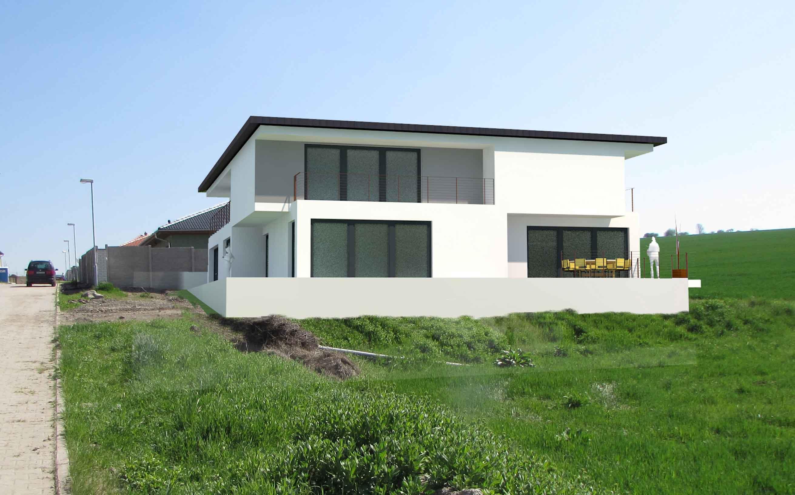 Cena projektu domu od architekta